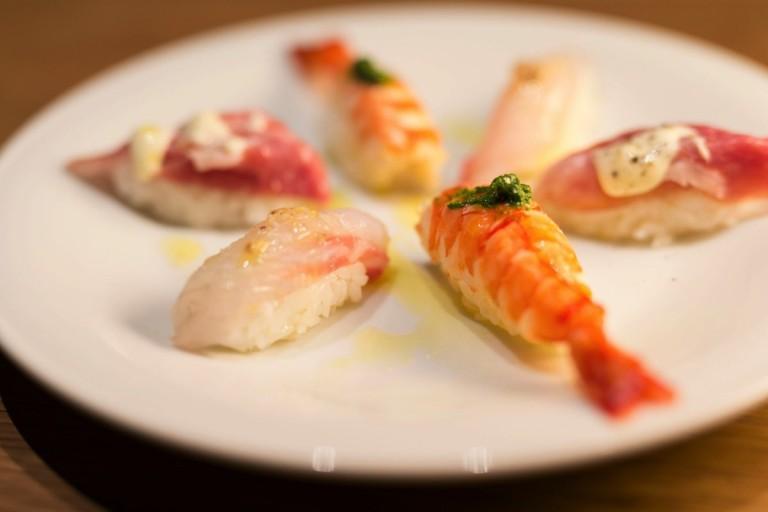 トラットリワのThe寿司